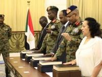 مجلس السيادة بالسودان يؤدي اليمين الدستوري (صور)