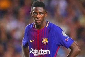 برشلونة يفرض غرامة مالية على ديمبيلى بسبب إصابته