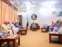 لقاء هام بين رئيس الجمعية الوطنية ووفد من قبائل آل كثير