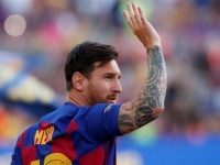 عودة ميسي لتدريبات برشلونة استعدادا لمواجهة ريال بيتيس