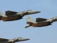 مقاتلات التحالف تُدمر غرفة عمليات عسكرية للمليشيات بصعدة
