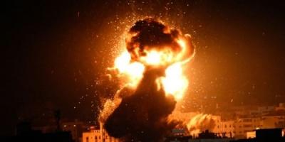 قصف إسرائيلي على مواقع لحماس بغزة