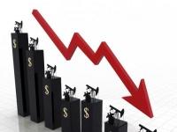هبوط أسعار النفط عالمياً متأثرة بالاضطراب الاقتصادي العالمي