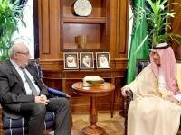 وزير الخارجية السعودي يستقبل السفير  المصري لدى المملكة