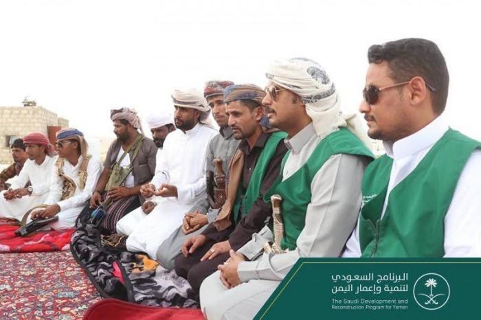 البرنامج السعودي لتنمية وإعمار اليمن يرصد احتياجات المواطنين بالمهرة (صور)