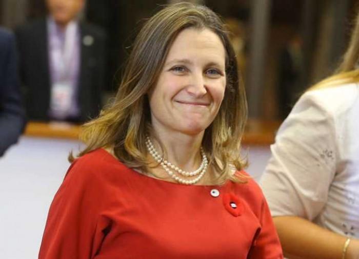 الأسبوع المقبل.. وزيرة الخارجية الكندية تزور كوبا