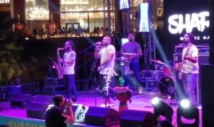 فرقة شارموفرز تتألق بحفلها الأخير فى القاهرة (صور)