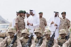 شاهد.. صورة تكشف الفارق بين أسود الإمارات وعناصر الإصلاح