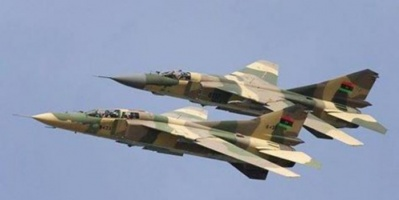 سلاح الجو الوطني الليبي يعلن السيطرة الكاملة على الأجواء الليبية