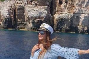 فريال يوسف تنشر صور رحلتها الصيفية لكرواتيا