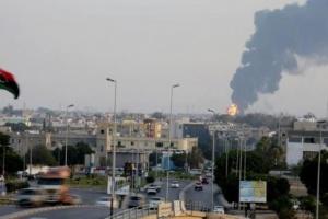 مليشيا ثوار طرابلس تقصف مطار معيتيقة الدولي