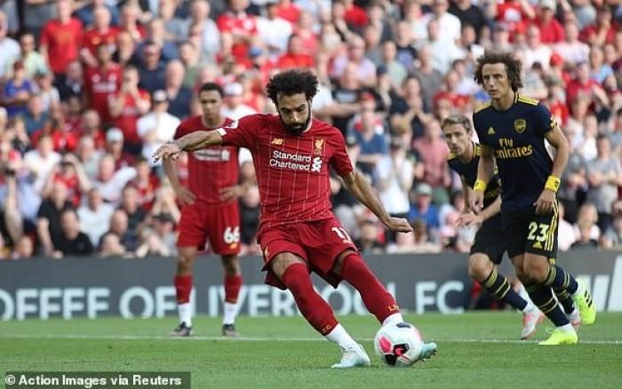 ليفربول يفوز على آرسنال 3-1 في الدوري الإنجليزي