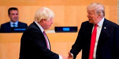 جونسون يحث ترامب على إزالة العوائق أمام الشركات البريطانية في الأسواق الأمريكية