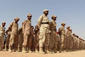 القوات الجنوبية تأسر شخص من الجوف يقاتل مع مليشيا الإخوان بعتق (صورة)