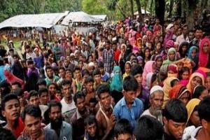 عشرات الآلاف من مسلمي الروهينجا يحيون الذكرى الثانية لفرارهم من ميانمار
