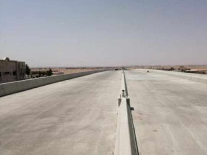 تنفيذ 95% من مشروع جسر تقاطع طريقي الملك فهد والإمام عبدالرحمن بن فيصل