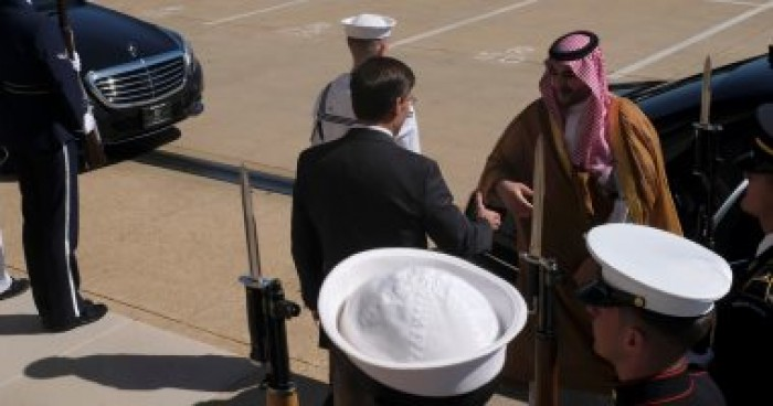 الأمير خالد بن سلمان يلتقي وزير الدفاع الأمريكي في واشنطن