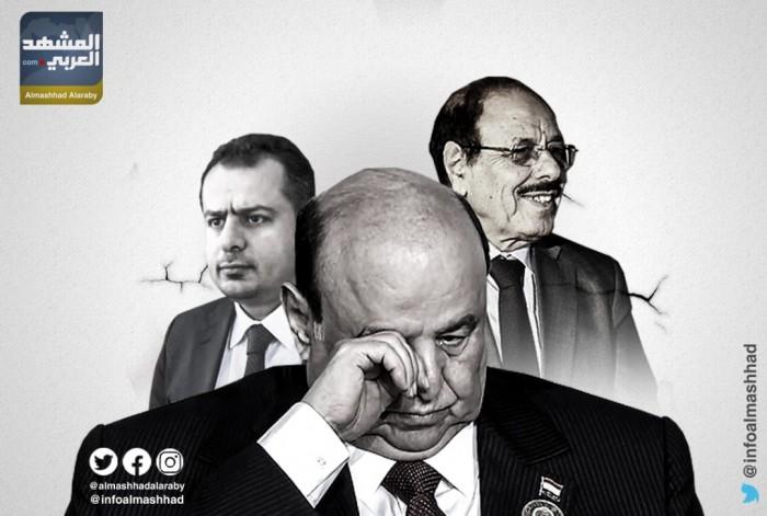 الشرعية في معسكر إيران.. تدعم الحوثي وتحارب التحالف العربي