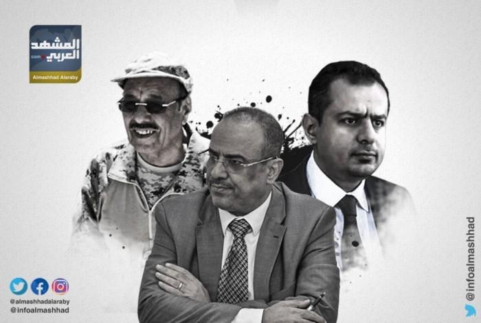 """""""يقودنا إلى المحرقة"""".. كيف فضح قيادي بمليشيا الإخوان إرهاب محسن الأحمر؟ (فيديو)"""