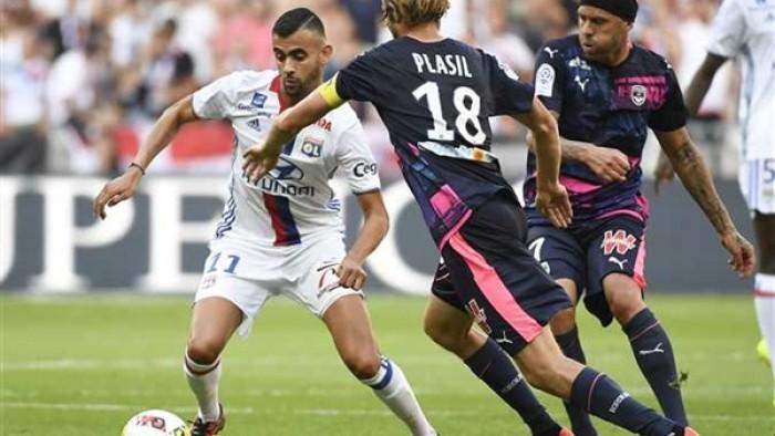 بوردو يتعادل مع ليون فى الدوري الفرنسى