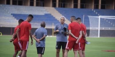 خليلوزيتش يقود أول مران مع المغرب