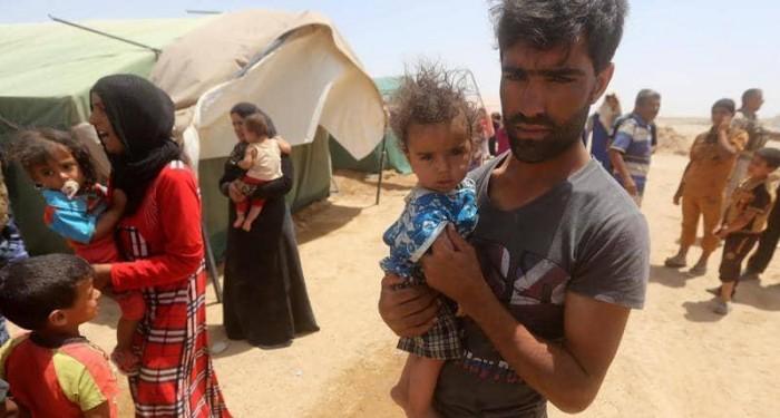 الأمم المتحدة: قلقون إزاء نقل 1600 نازح داخل العراق