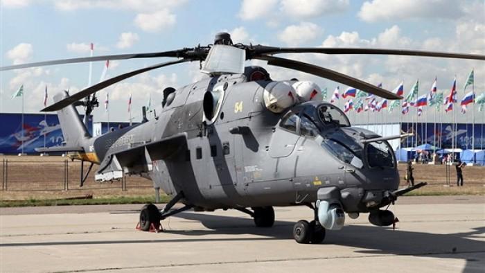 """شركة """"مروحيات روسيا"""" تبدأ في اختبار مرواحيتها المطورة """"مي - 35 بي"""""""
