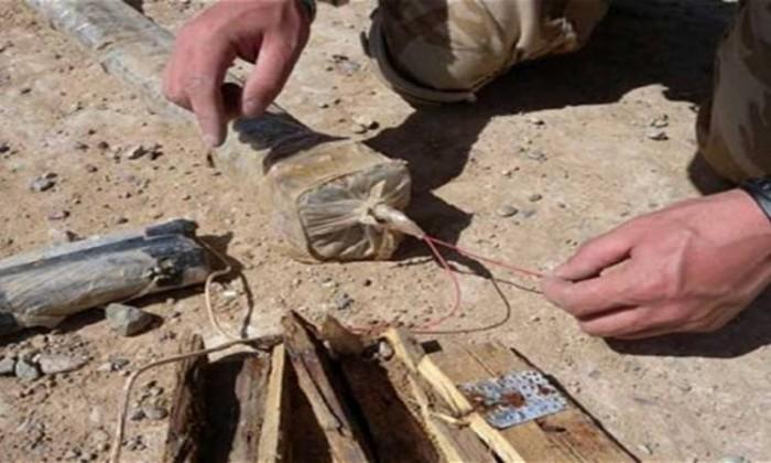 القوات الأمنية العراقية تفكك عبوتين ناسفتين في الرمادي