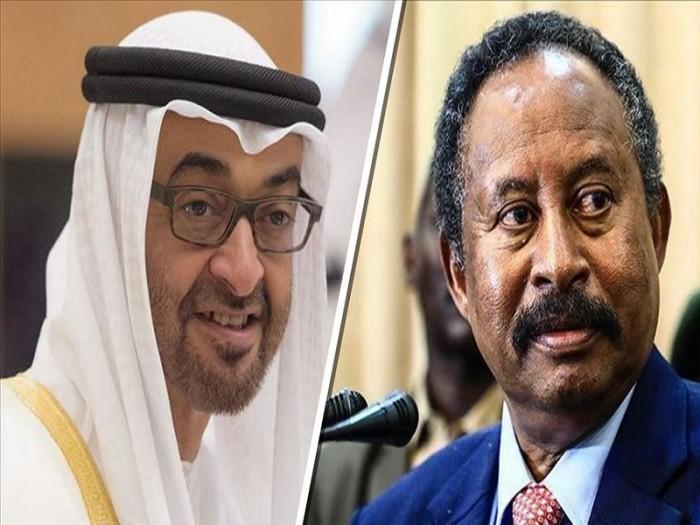 بن زايد يدعو رئيس الوزراء السوداني لزيارة الإمارات