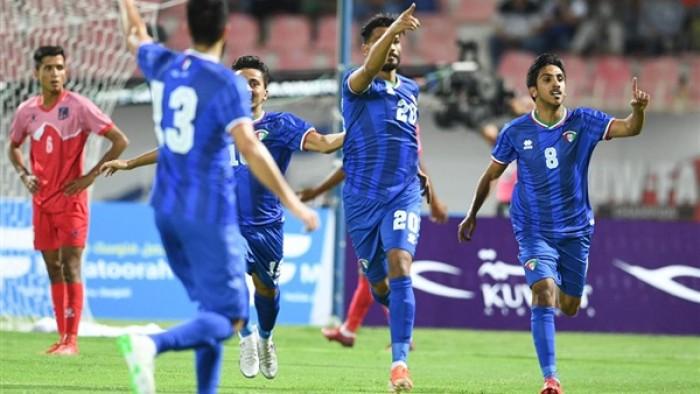 الكويت تكتسح نيبال بسباعية في تصفيات مونديال 2022