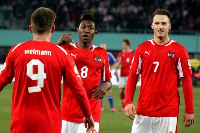 النمسا تكتسح لاتفيا في تصفيات يورو 2020
