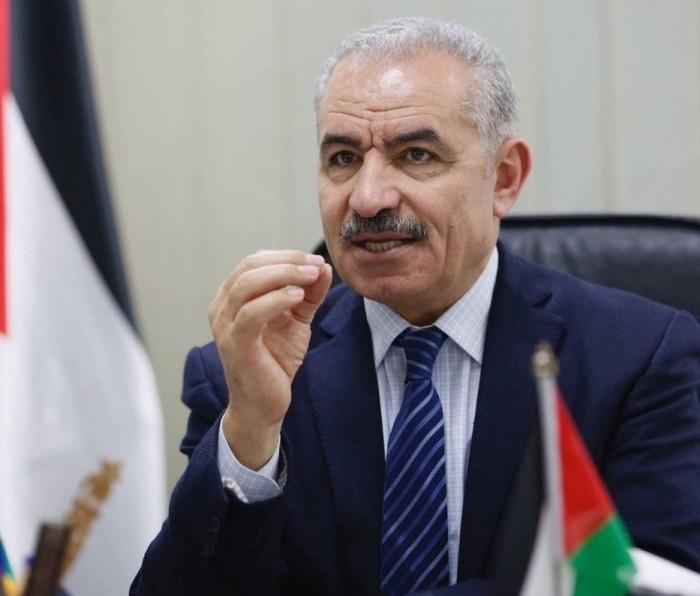 أشتية: أرض فلسطين ليست عقارًا للبيع بل هوية ووطن