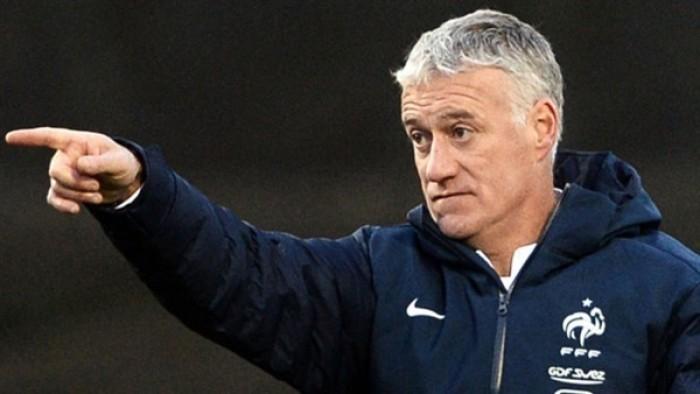 مدرب فرنسا يشيد بكومان بعد مباراة ألبانيا