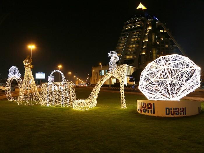 الإمارات تحتل المرتبة الأولى والسعودية الثانية في الإضاءة بالشرق الأوسط
