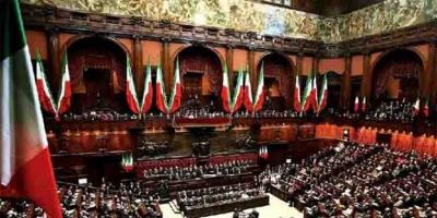 النواب الإيطالي يمنح الثقة للحكومة الجديدة بأغلبية 343 عضوا