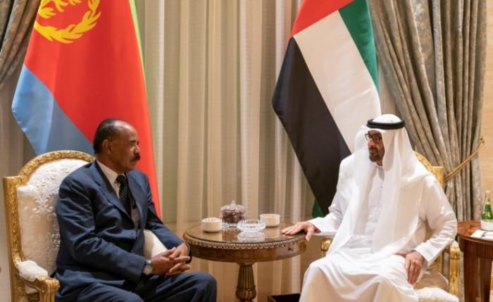 ولي عهد أبوظبي والرئيس الإريتري يبحثان العلاقات الثنائية بين البلدين
