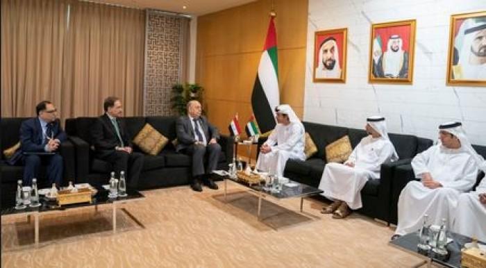 تعاون إماراتي عراقي في مجال الطاقة والنفط