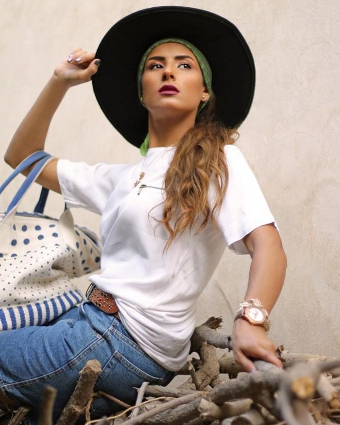 ريهام أيمن بزي الكاوبوي في أحدث إطلالة لها (صور)