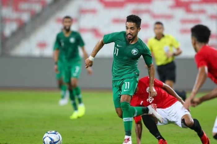 منتخب اليمن يسجل هدفين بشباك نظيره السعودي بتصفيات كأس العالم