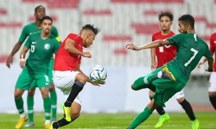 المنتخب السعودي يتعادل مع اليمني بهدفين في تصفيات المونديال