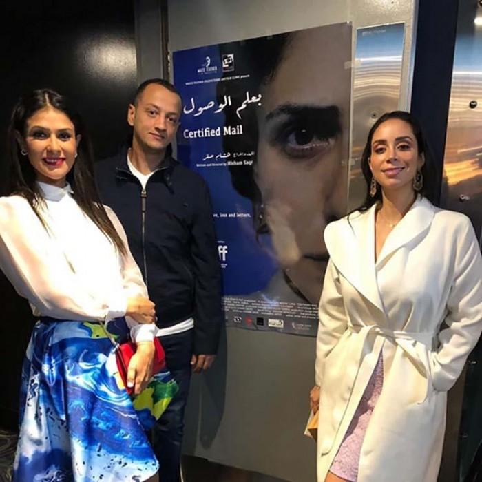"""بسمة بصحبة أبطال فيلم """"بعلم الوصول"""" في مهرجان تورنتو (صور)"""