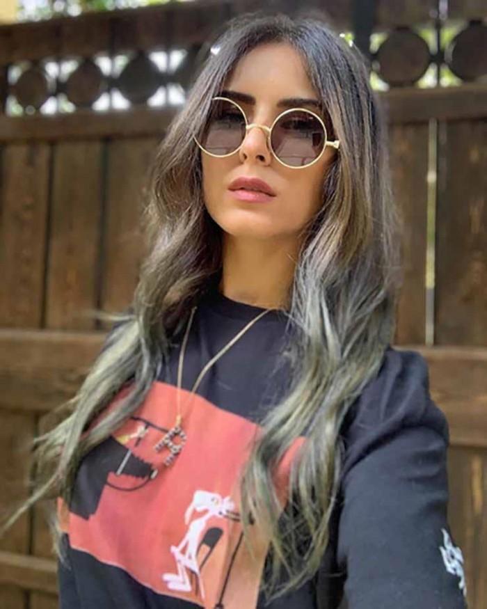 ريهام أيمن تستطلع رأي الجمهور في إطلالتها الجديدة (صور)