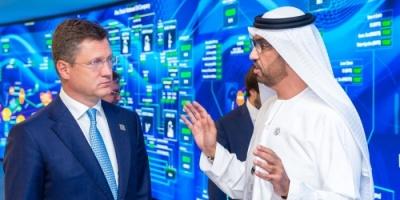أدنوك الإماراتية وروسيا تلتقيان بمؤتمر الطاقة العالمي لبحث شراكتهما الاقتصادية