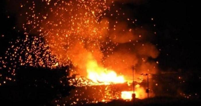 انفجارات تهز مستودع ذخيرة شمالي قبرص بعد نشوب حريق في منطقة عسكرية