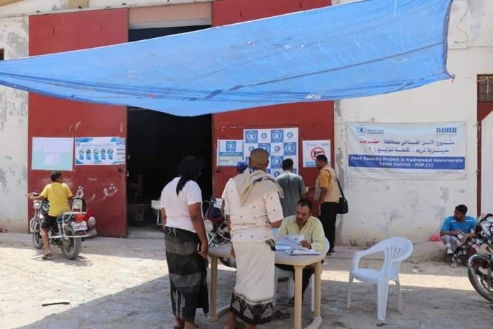 """""""الغذاء العالمي"""" يوزع مساعدات شهر أغسطس في حضرموت والمهرة (صور)"""