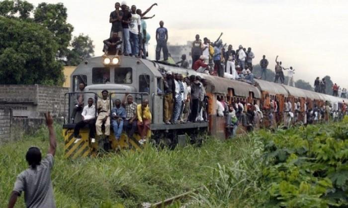 50 قتيلا في حادث قطار جنوب شرقي الكونغو الديمقراطية