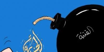 """""""الجزيرة"""" وأكاذيب الشاشة الصغيرة.. إرهاب إعلامي يخدم إخوان الشرعية"""
