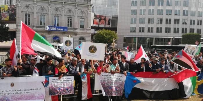 حضور مكثف في فعالية الوفاء للإمارات والسعودية في بلجيكا (صور)