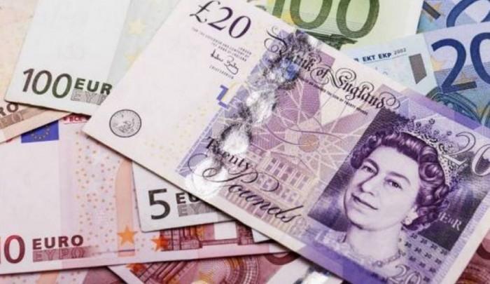 الاسترليني يقفز أمام اليورو بنسبة 0.8%