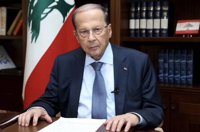 الرئيس اللبناني: محاولات إسرائيل لتغيير الوضع بالجنوب يشكل خطراً